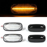 LED Side Repeater Indicator Light For Land Rover Freelander Discovery Defender