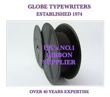'REMINGTON 7 NOISELESS' *PURPLE* TYPEWRITER RIBBON* MANUAL REWIND + INSTRUCTIONS