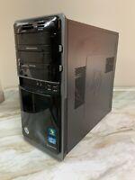 HP P7-1080T Computer i5-2400S 8GB RAM 256GB SSD + 2TB HDD KB & Mouse W10 Wifi
