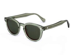 X-LAB Occhiali da Sole 8004 stile moscot  07 verde /6266 g15 polarizzato