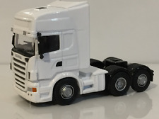 Scania Cab White Scale 1:76 New Oxford 76WHSCACAB New