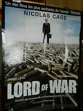 LORD of WAR seigneur guerre NICOLAS CAGE affiche CINEMA movie poster Filmplakat