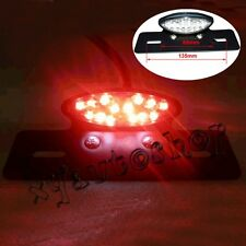Integrated Motorcycle Tail Rear Brake Plate LED Light Turn Signal for Suzuki US