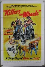 KILLERS ON WHEELS FF ORIG 1SH MOVIE POSTER SHAW BROTHERS NEAL ADAMS ART (1976)