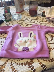 Sweatshirt For Baby Girl, Size 12 Months