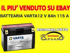 BATTERIA MOTO/SCOOTER/MOTORINO TMAX VARTA Powersports AGM 12V 8Ah 115A