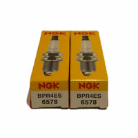 9873 ;from#kvmower #UGEIO12321539803148 2 PACK NGK Spark Plug NGK BPR4ES Kawasaki 6578 Toro: 92070-7004 Arien~