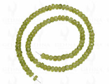 5 MM Peridot Gemstone Round Faceted Bead Strand NS1287
