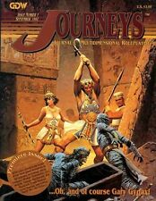 JOURNEYS ISSUE #1 GDW Multidimensional Fantasy Roleplaying Game Gygax Journal