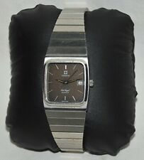 OROLOGIO POLSO di FORMA LUSSO Zenith Port Royal VINTAGE anni 70 OLD WATCH data