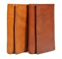 Tony Perotti Italian Leather Trifold Euro Clutch Wallet with ID Window
