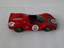 FERRARI 330 P4 SPYDER DAYTON # 24  1967 1/12 BIG SCALE RESIN MODEL KIT