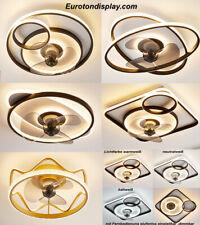 LED Deckenleuchte Deckenventilator Deckenventilatorleuchte  Fernbedienung dimmen