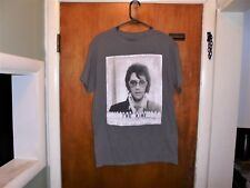 Elvis Presley : The King T Shirt Medium ( M ) Gray Nice Shape