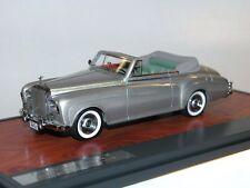 Matrix Scale Models, 1963 Rolls Royce Silver Cloud DHC, Mulliner, silber, 1/43