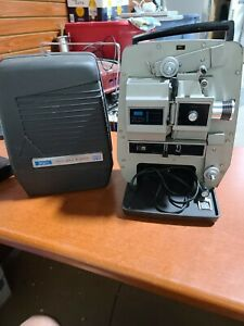 Vintage Sears Du-All Eight - 8 mm Super 8 Movie Projector Motor and Lamp Working
