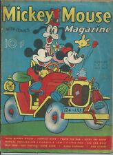 🔥MICKEY MOUSE MAGAZINE VOL.2 #11**(1937, K.K. PUBLICATIONS)**GOLDEN AGE**VG/GD*