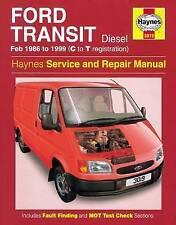 Ford Transit Diesel (Feb 86 - 99) Haynes Repair Manual