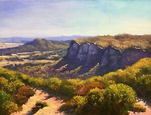 Original landscape oil painting Colliers Causeway by Chris Vidal