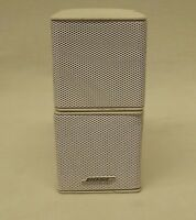 Bose Jewel Double Cube Speakers White (B) GENUINE FREE SHIPPING