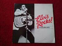 "Elvis Rocks 14 Golden Hits. 12"" LP Vinyl Album Reader's digest RARE"