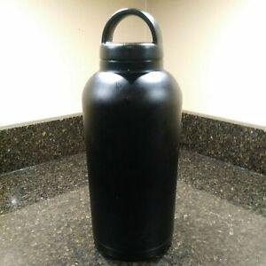 rtic 48 oz black bottle 18/8 stainless steel