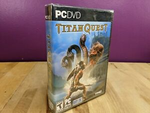 TITAN QUEST Video Game PC DVD New And Sealed