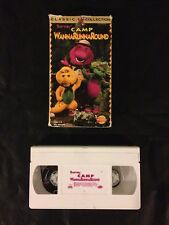 Barney - Camp WannaRunnaRound (VHS, 1997) Classic Collection