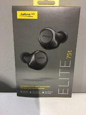 Jabra Elite 75t True Wireless Headphones with Charging  Case - Titanium Black