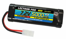 Lectron Pro 5000mAh 6 cell 7.2v NiMH Battery Tamiya Connector FREE US SHIP
