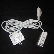 LED Treiber Trafo mit 3-Fach AMP Steckerleiste für Clip Vitrinenbeleuchtung 12V