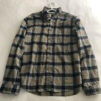 Men's Plaid Standard Fit Long Sleeve Flannel Button-Down Shirt - Goodfellow & Co