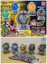 Bandai Super Sentai Uchu Sentai Kyuranger Mini Kyutama Part 03 gashapon x5
