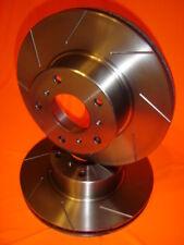 SLOTTED Chrysler 300C 6.1L SRT8 FRONT Disc brake Rotors DR12489S PAIR