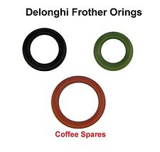 Delonghi ORING Kit for milk frother - Set of 3 for EAM & ESAM - see list
