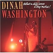 Dinah Washington - What a Diff'rence a Day Makes!  - import