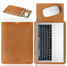 Laptop Sleeve Case Microfiber PU Leather Bag for Notebook Macbook Air Pro Inch