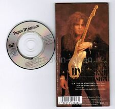 "YNGWIE MALMSTEEN Power And Glory /Seventh Sign JAPAN 3"" CD PCDY-00127 Unsnapped"