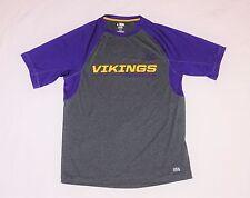 Minnesota Vikings Football Majestic TX3 Cool Dry Wick Performance Shirt Medium