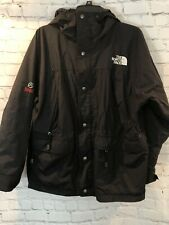 The North Face Summit Series Gore Tex XCR Black Hooded Rain Shell Jacket Sz M