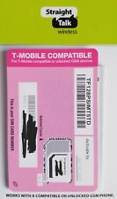 Straight Talk Sim card • T-Mobile iPhone 5 5c 5s 6 6+ 6s 6s+ Se 7 7+ 8 X Plus