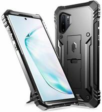 Samsung Galaxy Note 10+ Plus/5G Rugged Armor Case Kickstand Military Grade Cover