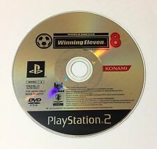 USED PS2 Game Disc Only World Soccer Winning Eleven 8 JAPAN Sony PlayStation 2