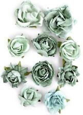 Kaisercraft Paper Blooms Flowers Sage Green Greenhouse Blue Nini's Things