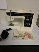 Vintage Heavy Duty Digital JCPenney Sewing Machine Model 8000 RARE