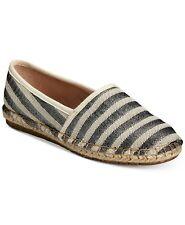 Charter Club Silver Stripe Women's Shose Joeey Size 8.5M Lat26-519