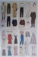 vintage Jack and Jill magazine paper dolls c 1941 14 sheets uncut Navy flier