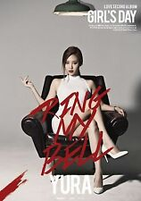 GIRL'S DAY 2nd Album [Ring My Bell] Yura Ver. CD + Photocard + Photobook Sealed