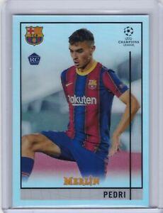 2020-21 Topps Merlin Chrome Refractor #89 Pedri - FC Barcelona RC