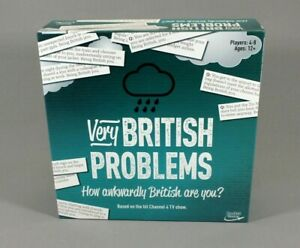 Very British Problems - Board Game - Complete - Rocket Games - Ages 12+